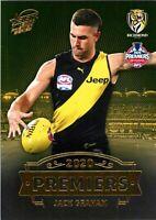 ✺New✺ 2020 RICHMOND TIGERS AFL Premiers Card JACK GRAHAM - 21 of 25