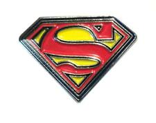 Superman Insignia Logo Iconic Emblem Metal Enamel Pin Badge 20mm NEW