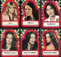 Charlie's Angels series 1-1 sealed pack & 55 cards & 11 stickers-my best price