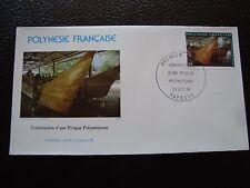 POLYNESIE FRANCAISE - enveloppe 1er jour 21/10/1986 (B7) (A)