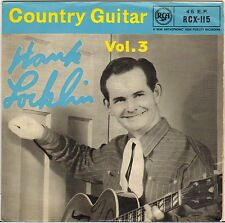 "HANK LOCKLIN ""COUNTRY GUITAR VOL. 3"" COUNTRY ROCKABILLY EP 1959 RCA 115"