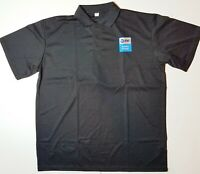 AT&T Mens 2XL Shirt Polo Golf Black Uniform XXL ATT Logo Employee Work Gear