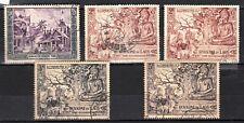 LAOS 1954 1956  SG CV 95£ 130$