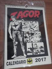 """Calendario ZAGOR 2017 con Confezione Calcarelli """"La leggenda inizia qui"""""""