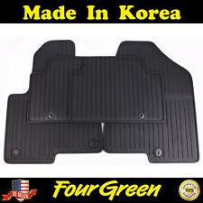 Black All Weather Rubber Floor Mats for 2013-2018 Hyundai Santa Fe - 4 PCS⭐⭐⭐⭐⭐