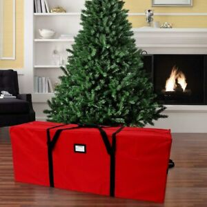 Christmas Tree Storage Bag Heavy Duty Holiday Up to 7.5 Ft. Trees w Handles