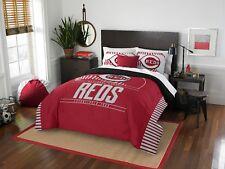 "Cincinnati Reds ""Grand Slam"" Full/Queen Comforter & Shams Set OFFICIAL MLB"