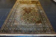 Feiner Handgeknüpfter Orientteppich Kaschmir Seide Ghom Silk Carpet 190x280cm