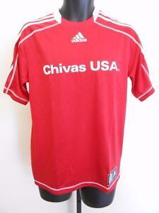 NEW MLS C.D. Chivas USA Adult Mens Sizes S-M-L-XL-2XL Adidas Climalite Jersey