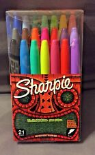 NEW Sharpie Limited Edition Permanent Markers Assorted Colors  / 21 Count