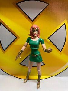 Hasbro Marvel Legends Walmart EXCLUSIVE MARVEL GIRL JEAN GREY Cable 2-pack Loose