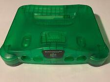 Nintendo 64 N64 JUNGLE GREEN System Console Shell & Feet - FUNTASTIC - FREE SHIP