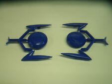 """Lambretta """"ULMA"""" Double Pied Protection Bordure Remplacement Rétro Bleu """""""