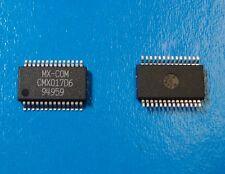MX COM CMX017D6 UHF FM/FSM Transmitter 860-965MHz 100mW , SSOP-28, Qty.2