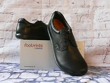 FootPrints Birkenstock POTSDAM BLACK LEATHER OXFORDS  MEN US 8-8.5 EU 41 NEW