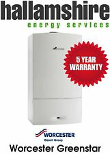 INSTALLED WORCESTER 25I 6 YEAR WARRANTY, COMBI BOILER , FREE STAT