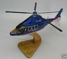 EC-155 Dancopter Eurocopter Helicopter  Mahogany Kiln Wood Model Small New