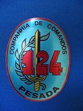 PORTUGAL COMANDOS COMMANDOS UNIT BADGE COMPANHIA 124 PESADA