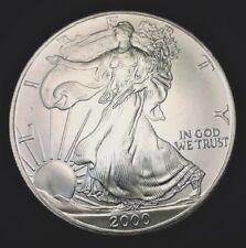 2000 Silver American Eagle BU 1 oz Coin US $1 Dollar Brilliant Uncirculated *20