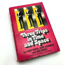 Three Trips In Time And Space | Larry Niven, John Brunner, Jack Vance | 1st/1st