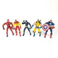 Marvel Legends Custom Fodder Random Lot of 5 Toybiz Hasbro Action Figures