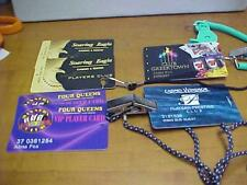 Casino Player's Club Cards - 6 in all from 4 different casinos -15503M