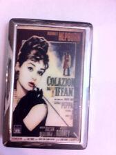 Audrey Hepburn Colazioni da Tiffany's Cigarette Case Business Credit Card Holder