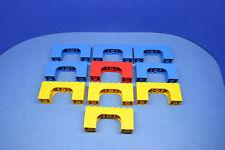 LEGO 10 x Bogen Bögen Mix blau gelb rot weiß   mixed arches 4743