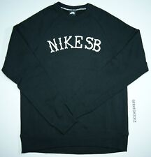 NIKE SB ICON GRAPHIC CREWNECK SWEATER SZ MEDIUM 677740 010 LAB SP TECH ACG