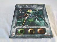 Extreme Tactics by Piranha -Vintage PC Game -Rare New Sealed Big 1998 Retail Box