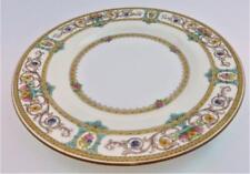 "Minton, GRASMERE, Mustard Trim, Pink & Yellow Flowers, Salad Plate, 7 3/4"""