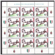ITALIA 2004  -  SCUDETTO AL  MILAN  MINIFOGLIO  NUOVO  **