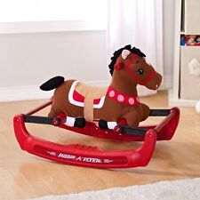 Kids Rocking Bouncing Pony With Sound  Soft Riding Toy Horse Playroom New