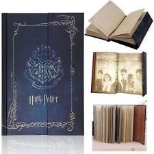 Harry Potter Vintage blu diario Planner Gazzetta libro Agenda Notebook