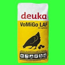Deuka VoMiGo Legekorn 25kg Alleinfutter wirkt geg. Vogelmilbe Pellets