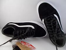 VANS Old Skool MTE Black/White Skateboarding Shoes Men's Size 7.5 New In Box