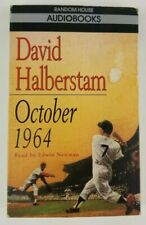 OCTOBER 1964 Cassette Audiobook By David Halberstam Random House