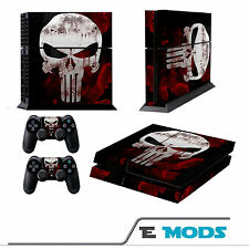 Marvels The Punisher Playstation 4 PS4  Skin Vinyl + 2 controller stickers