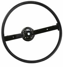 1970-1973 Ford Mustang  2 Spoke Steering Wheel Black