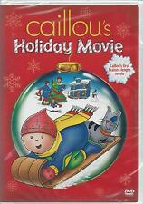CAILLOU'S HOLIDAY MOVIE CHRISTMAS CAILLOU'S First Feature Length Movie NEW DVD