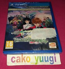 TALES OF HEARTS R SONY PS VITA  NEUF SOUS BLISTER ABIME VERSION 100% FRANCAISE