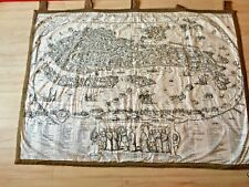 Wand Teppich Bayeux HANGING WALL TAPESTRY Carpet Venedig Cosmographia Historie