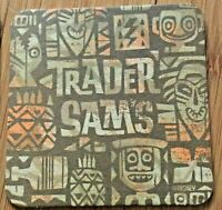 Disney Tiki Bar Trader Sam's Tangaroa Terrace Drink Coaster Disneyland Exclusive