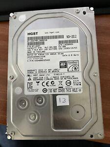 "Hitachi HGST 3TB 3.5"" CCTV/PC/Server NAS HDD SATA 7200rpm (Tested & Wiped)"