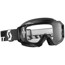 Scott Mx Hustle Gafas de motocross NEGRO CON transparente compatible Lente
