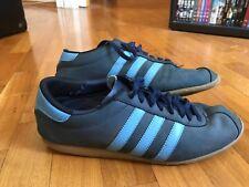 Adidas Rekord Gr. 42 blau/hellblau - Sammlerschuh