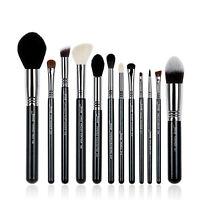 Jessup 12Pcs High Quality Pro Makeup Brush Set Make Up Brushes Kit Tools T128