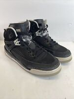 Nike Air Jordans 4 Youth Size 7Y 317321-004 Black & Gray