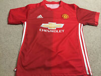 Manchester United Ibrahimovic #9 Adidas Youth Jersey Size 100cm Football EPL