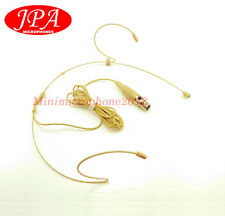 Beige dual Omni-directional Headset JPA Headworn mic For Vocopro wireless Mic
